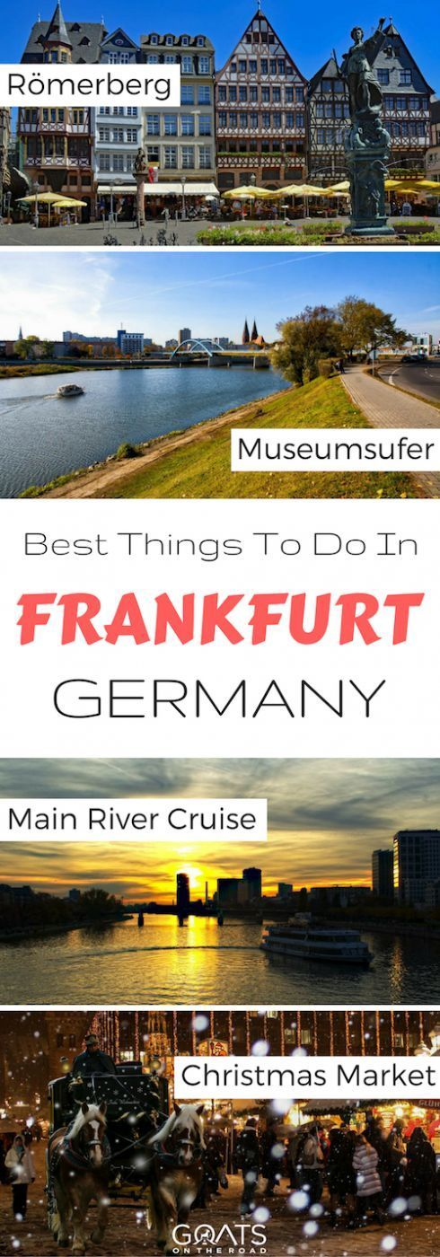 12 Things To Do In Frankfurt A Local S Guide Germany Travel