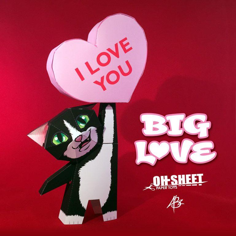 Big Love Oh Sheet Paper Toys Bastelarbeiten Aus Papier Und Pappe