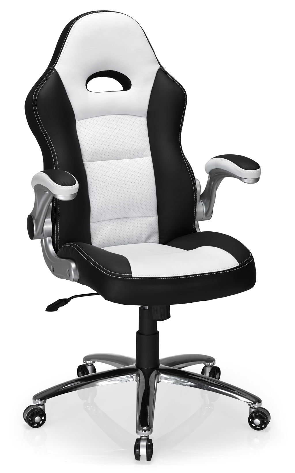 Hummingbird Le Mans Racer Chair Black and White Loving the