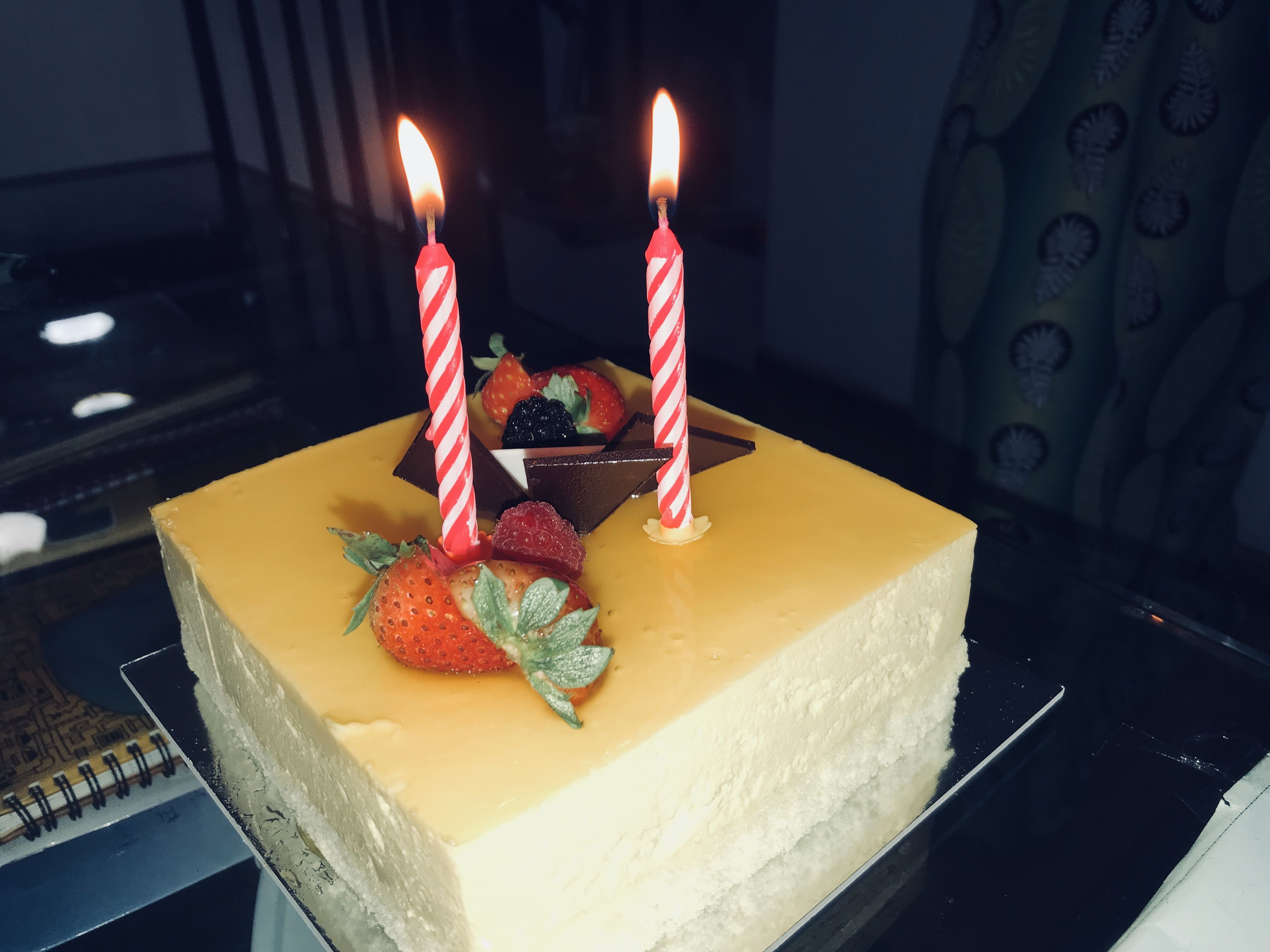 Mango cake 😍