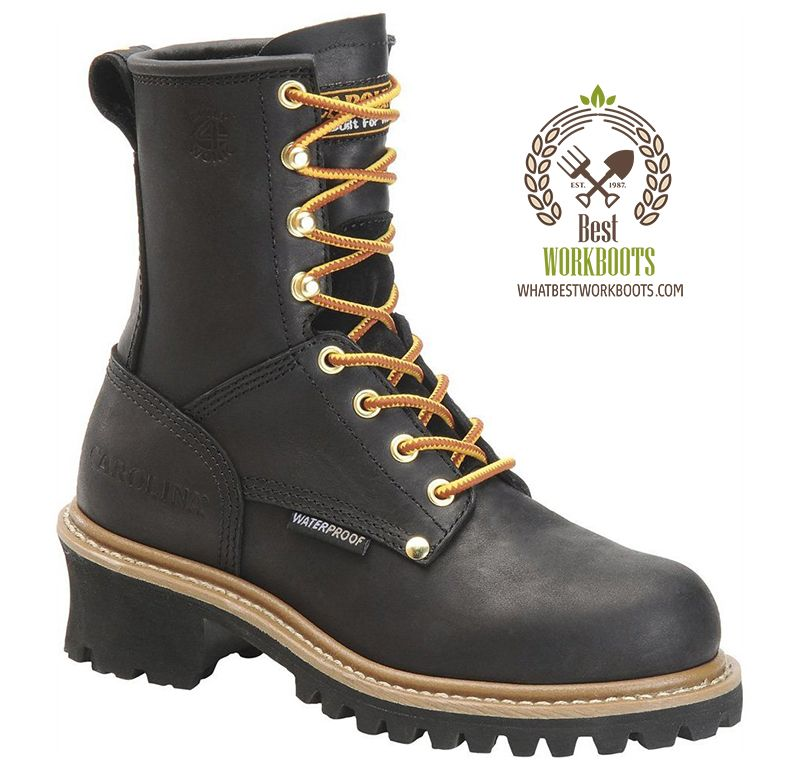 7d45af5f4ba Carolina Womens Steel Toe Waterproof Logger Boot Review #workboots ...
