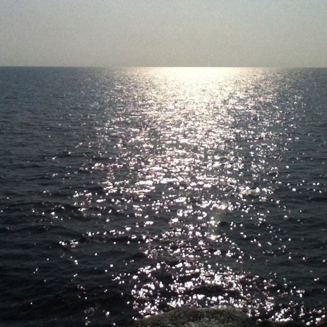 In the sea going to Mexico.