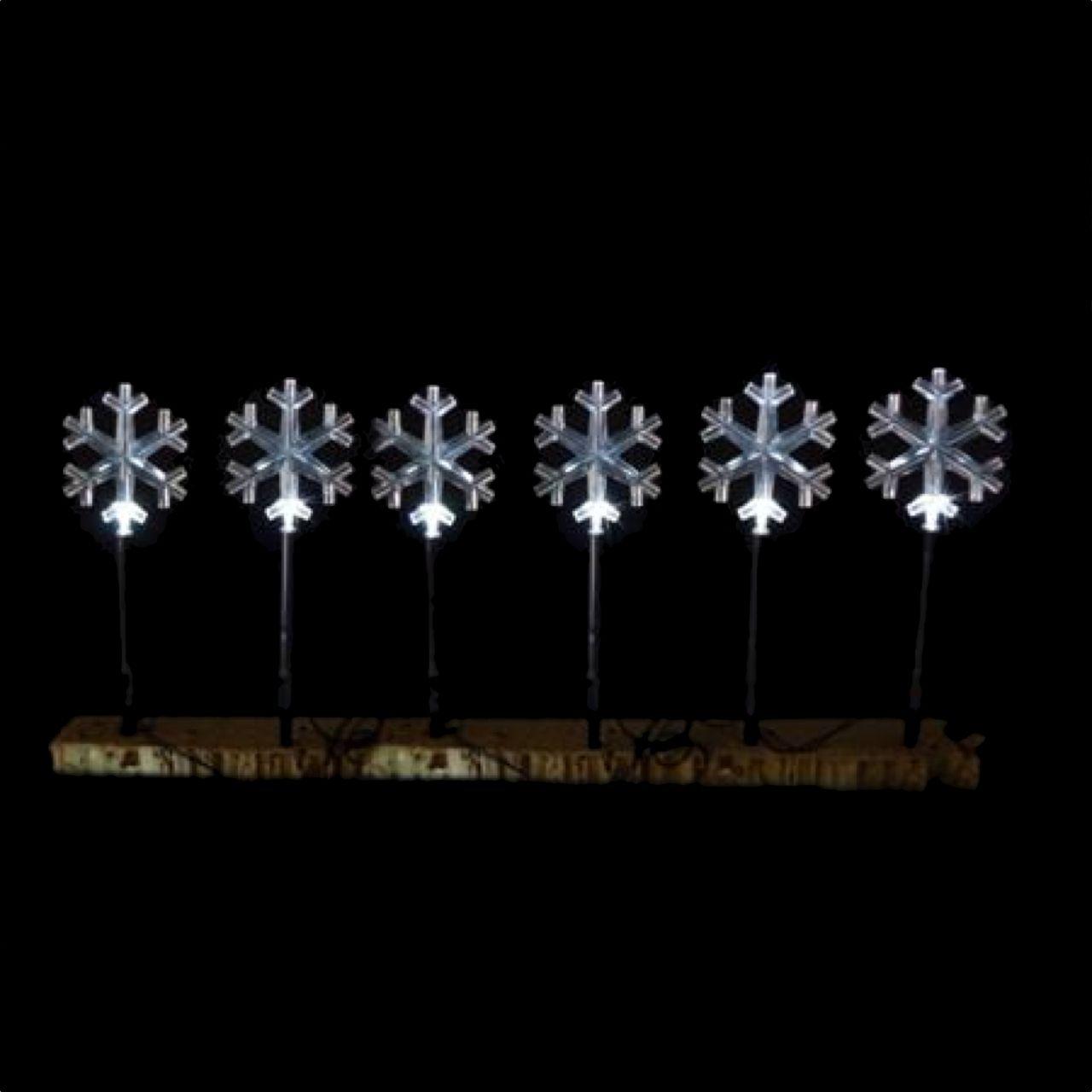 Led Solar Snowflake Path Lights White Christmas Elves 40 00 Gower St