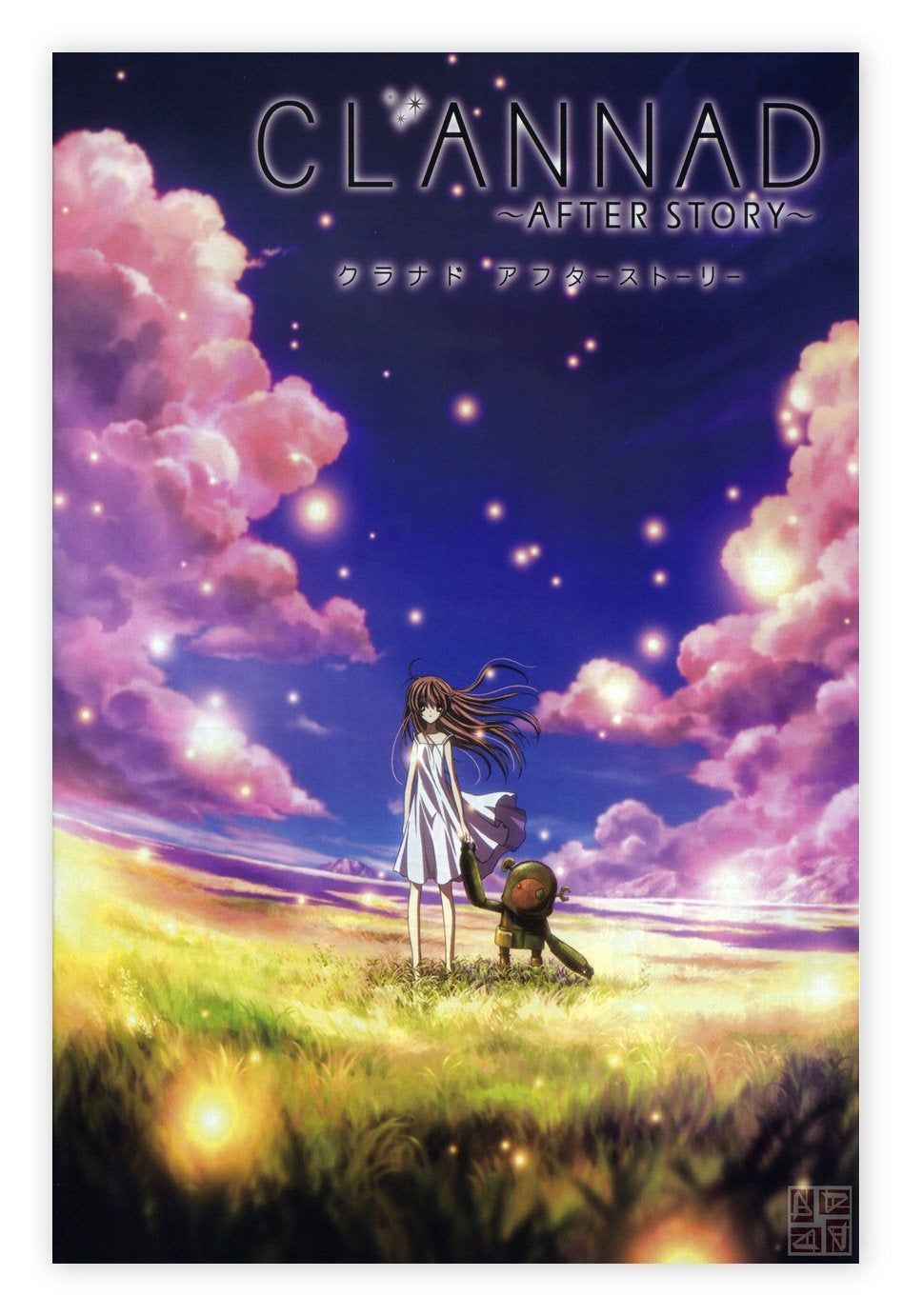 clannad after story poster,TV anime poster,Canvas poster