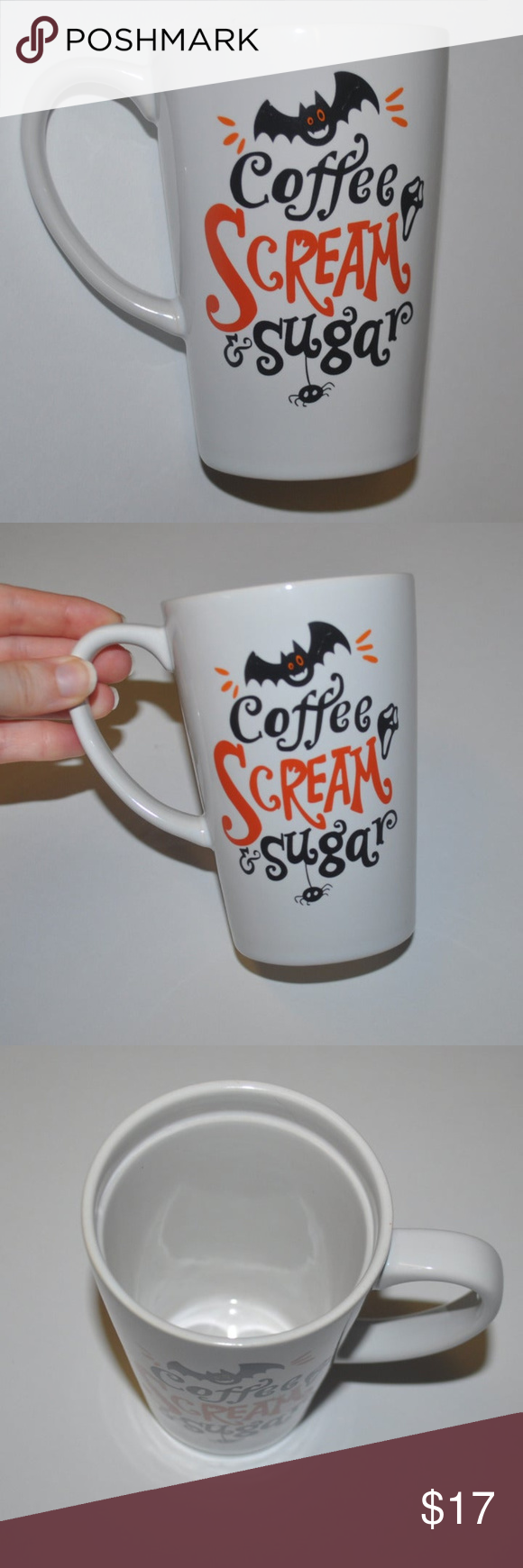Coffee Scream & Sugar Mug Brand New without tag no flaws