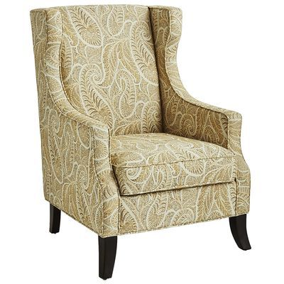 Alec Sand Paisley Wing Chair In 2019 Home Sweet Home Decor Pinterest Wing