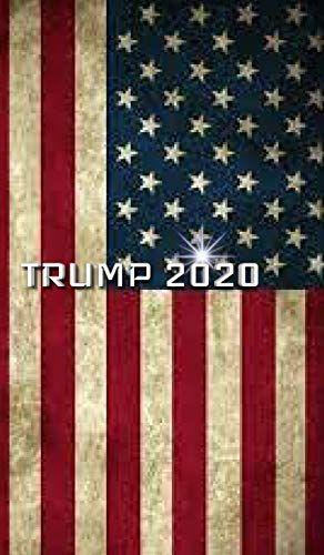 Trump American Flag 2020 Creative Journal By Sir Michael Huhn In 2021 American Flag Wallpaper American Wallpaper American Flag Art