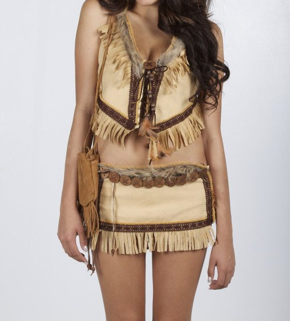 Items similar to Sexy Indian Costume. Authentic Indian Halloween costumes by Bonny on Etsy & Everything handmade with detail. Authentic feel and look. Costume is ...