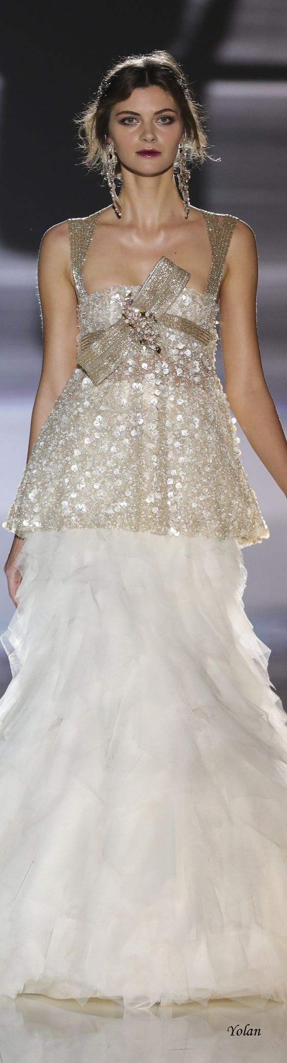 Mother of the bride dresses afternoon wedding   Bridal Jesus Piero This would be so beautiful for a christmas
