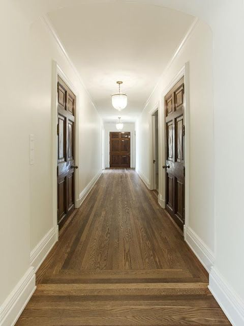 Wood doors must have matching wood frames mouldings for Hardwood floors with white trim