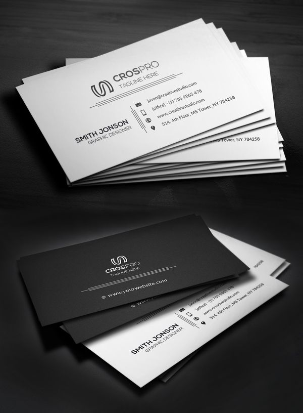 Creative business card businesscard psdtemplate visitingcard creative business card businesscard psdtemplate visitingcard printready elegantdesign branding business cards pinterest reheart Image collections