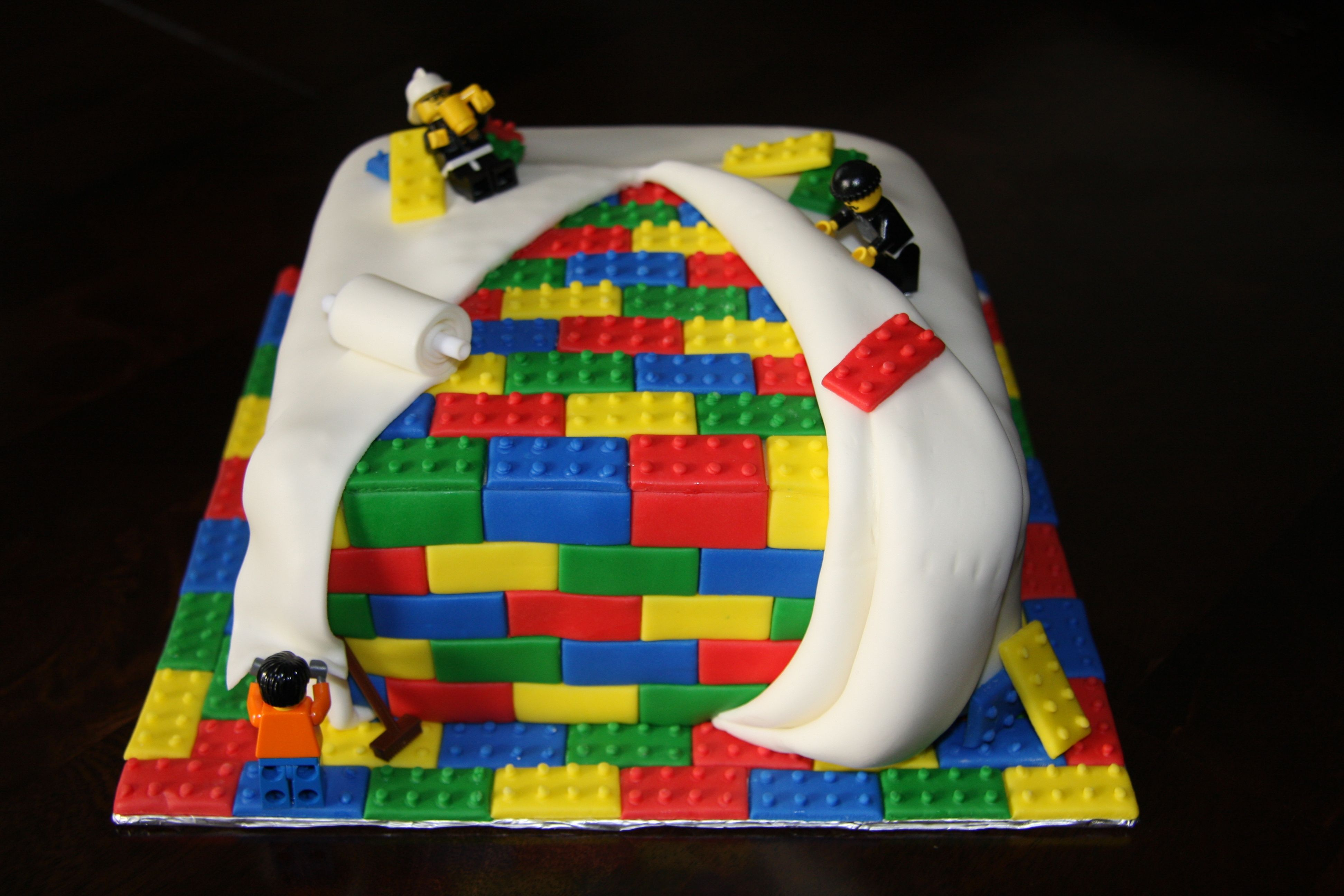 Legocake Tylers 5th Birthday LEGO TIME Pinterest Lego