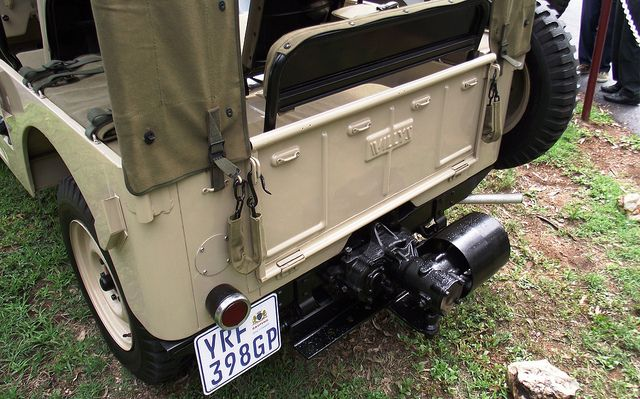 Willys 1946 CJ2A 3 by Basic Transporter, via Flickr, rear