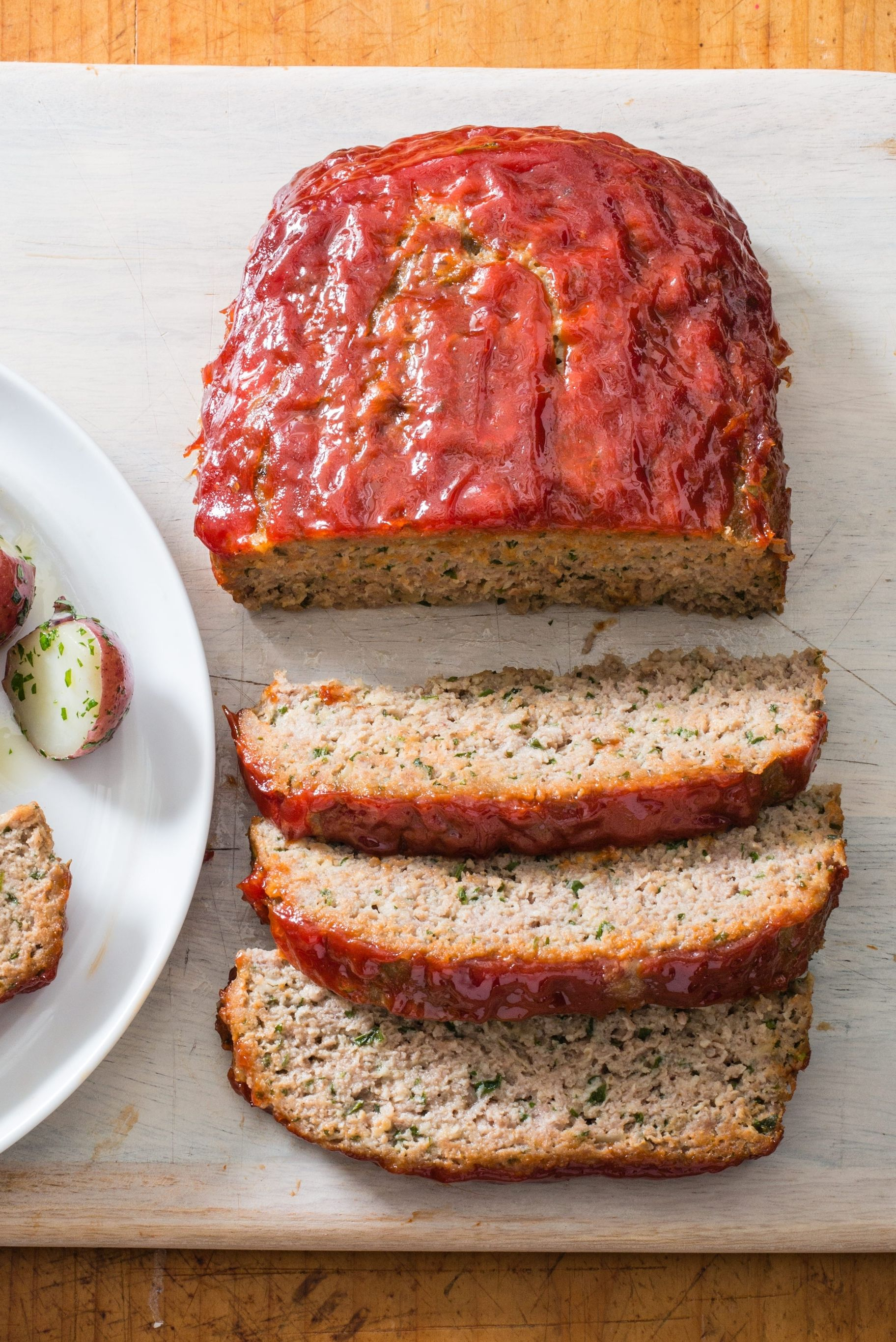 Turkey Meatloaf With Ketchup Brown Sugar Glaze Cook S Illustrated Recipe In 2021 Turkey Meatloaf Recipes Easy Turkey Meatloaf Turkey Meatloaf Recipe Easy