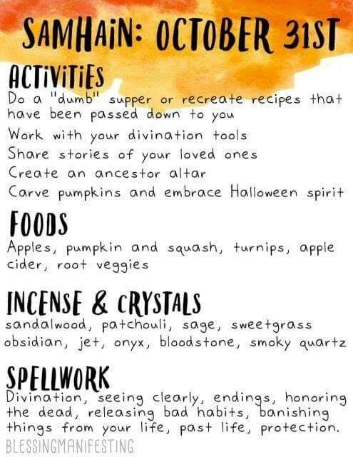 Samhain #samhainrecipes