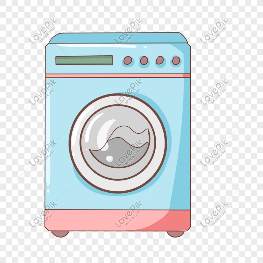 Blue Automatic Washing Machine Prf