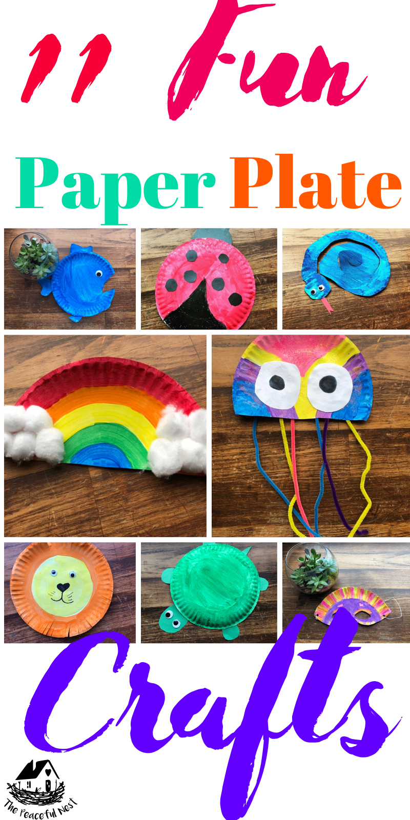 Photo of 11 Fun Paper Plate Crafts for Kids