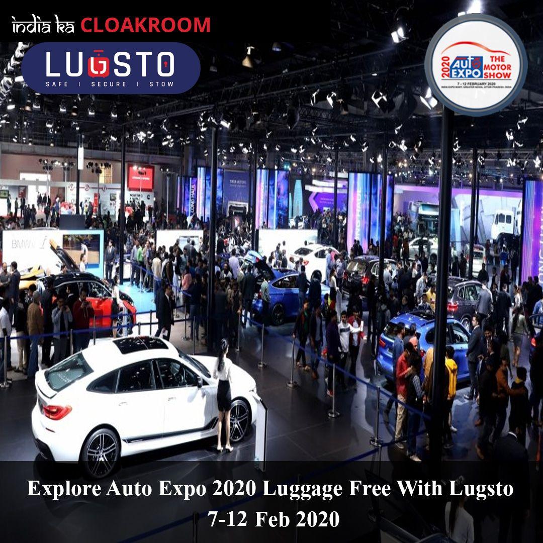 Auto Expo 2020 Noida Explore Luggage Free in 2020 Expo