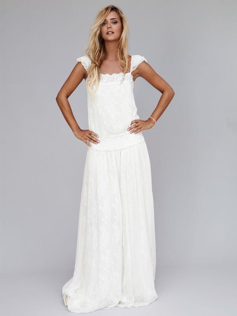 Robe longue blanche et robe blanche longue