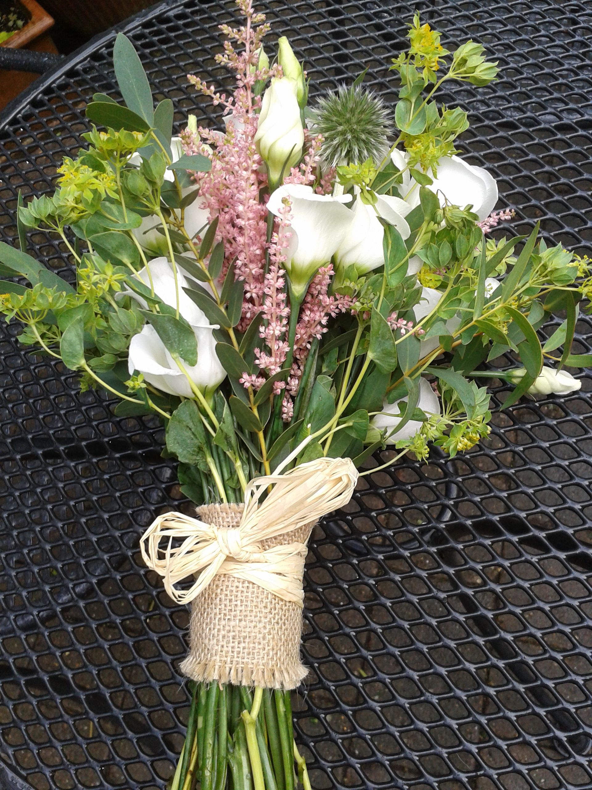 Late Summer, hand-tied bouquet