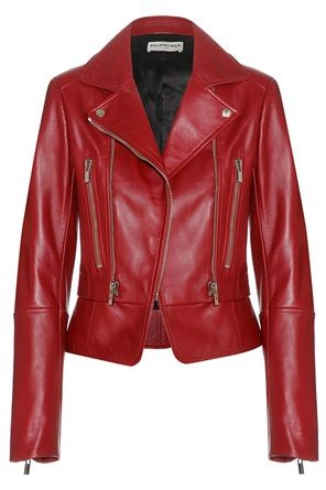 polmone Nave da guerra scrittore  Come Penelope, | Abbigliamento con giacca in pelle, Giacche di pelle rossa, Giacca  di pelle