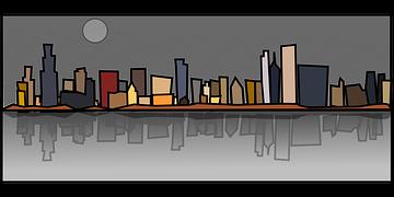 Chicago, Edificios, Paisaje Urbano