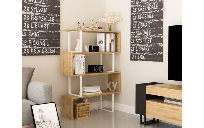 етажерка Yn1226 етажерки за хол Mebeli Bg Bookcase Etagere Bookcase Furniture