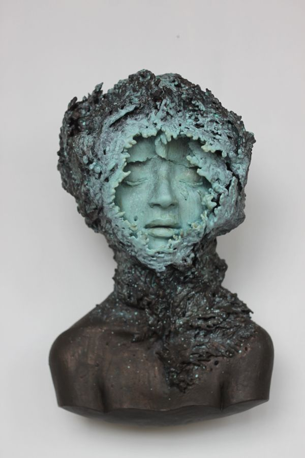 Stunningly beautiful sculpted busts by gosia modern