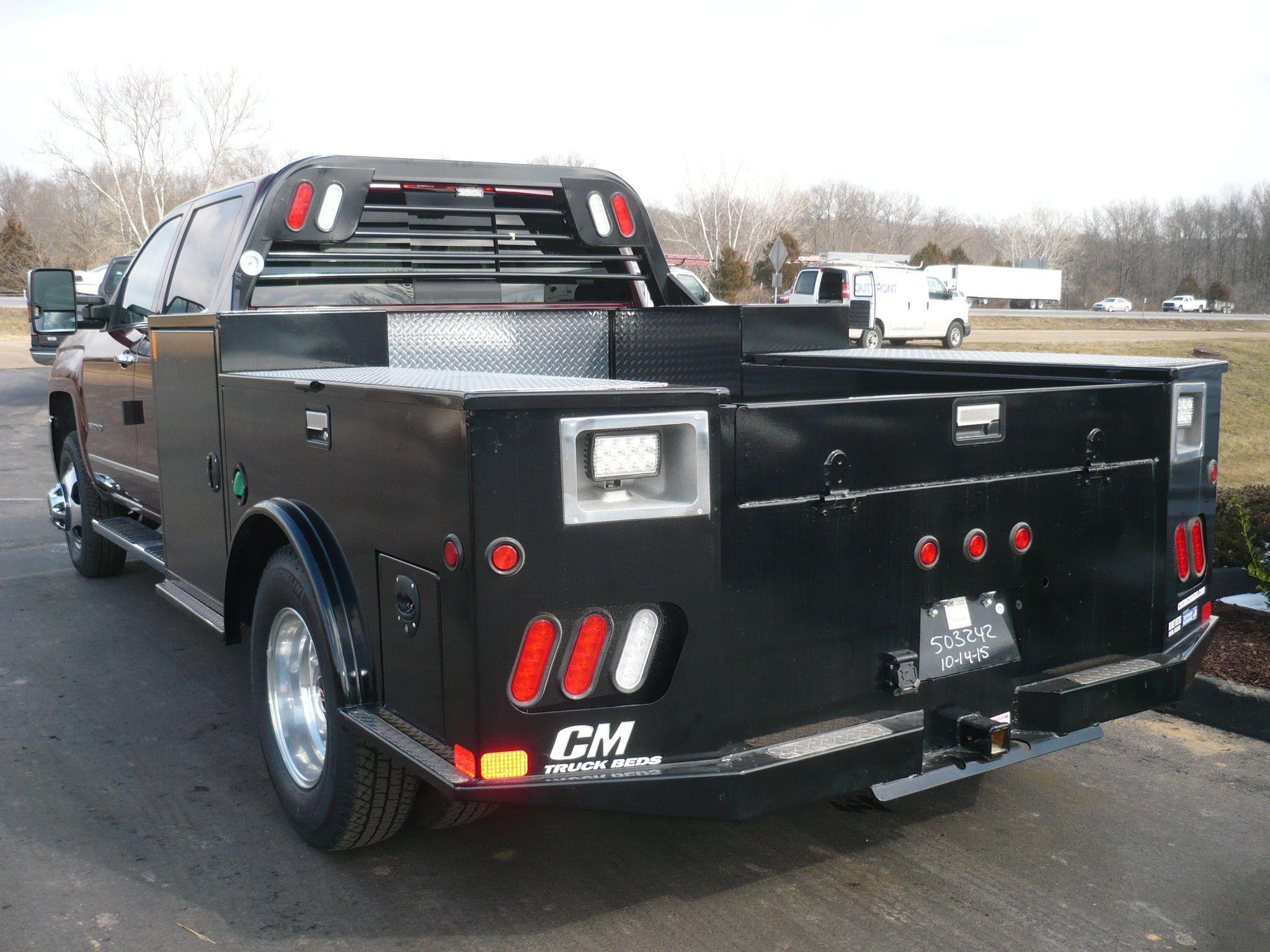 2016 Chevrolet 3500 with CM tm deluxe bed Custom truck beds