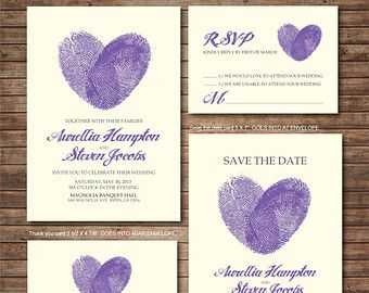 Wedding Invitation printables Coral and Navy by DallinsPaperie