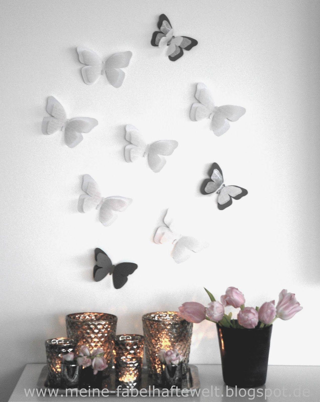 Cute Fr hling ganz einfach Schmetterlinge aus Tonpapier basteln Meine fabelhafte Welt