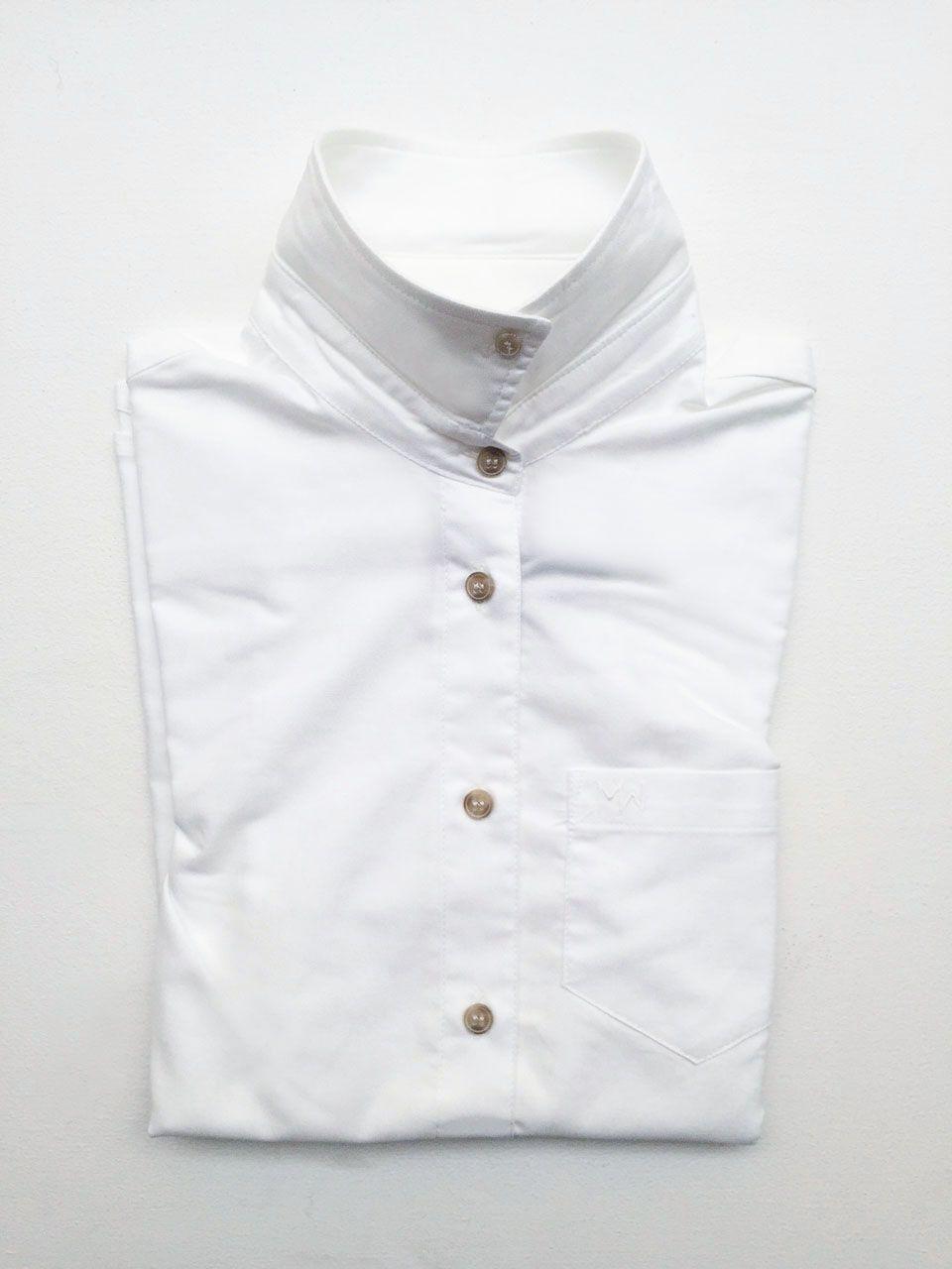 Agnes Oxford Shirt, White via Martha Ridewear. Click on the image to see more!