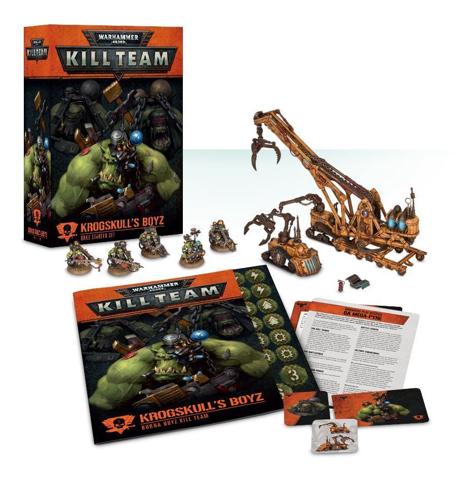 40K Miniatures 183473 Kill Team Krogskull'S Boyz Orks
