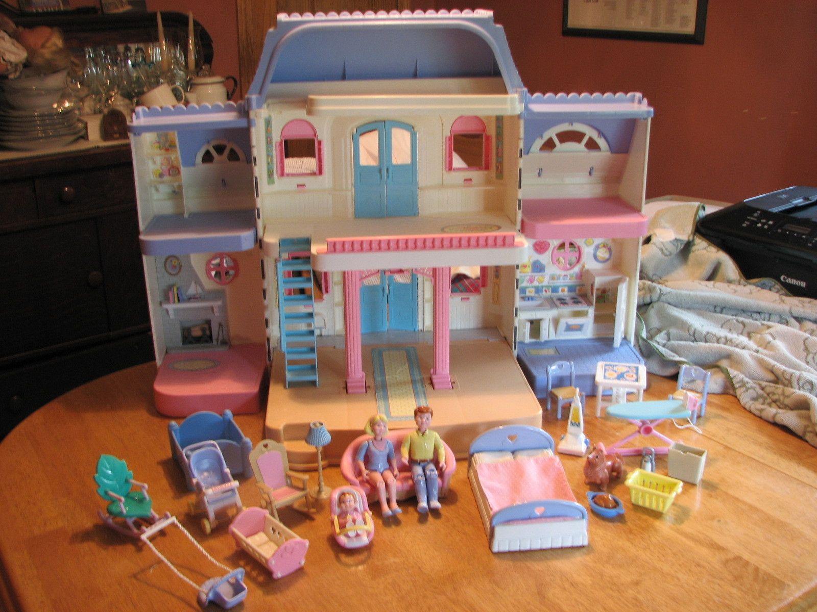 Fisher Price 1980 1989 Fisher Price Doll House Doll House Toys For Girls