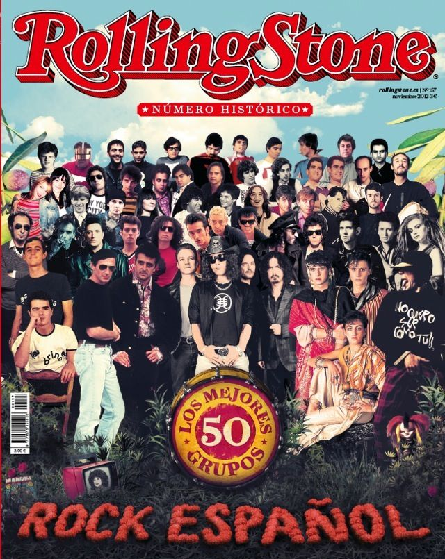 Especial Rs Los 50 Mejores Grupos De Rock Español Rock And Roll Rolling Stones Rock N Roll