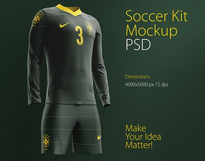 Check Out This Behance Project Soccer Kit Mockup Psd Https Www Behance Net Gallery 29416275 Soccer Kit Mockup Psd Mockup Psd Soccer Kits Mockup