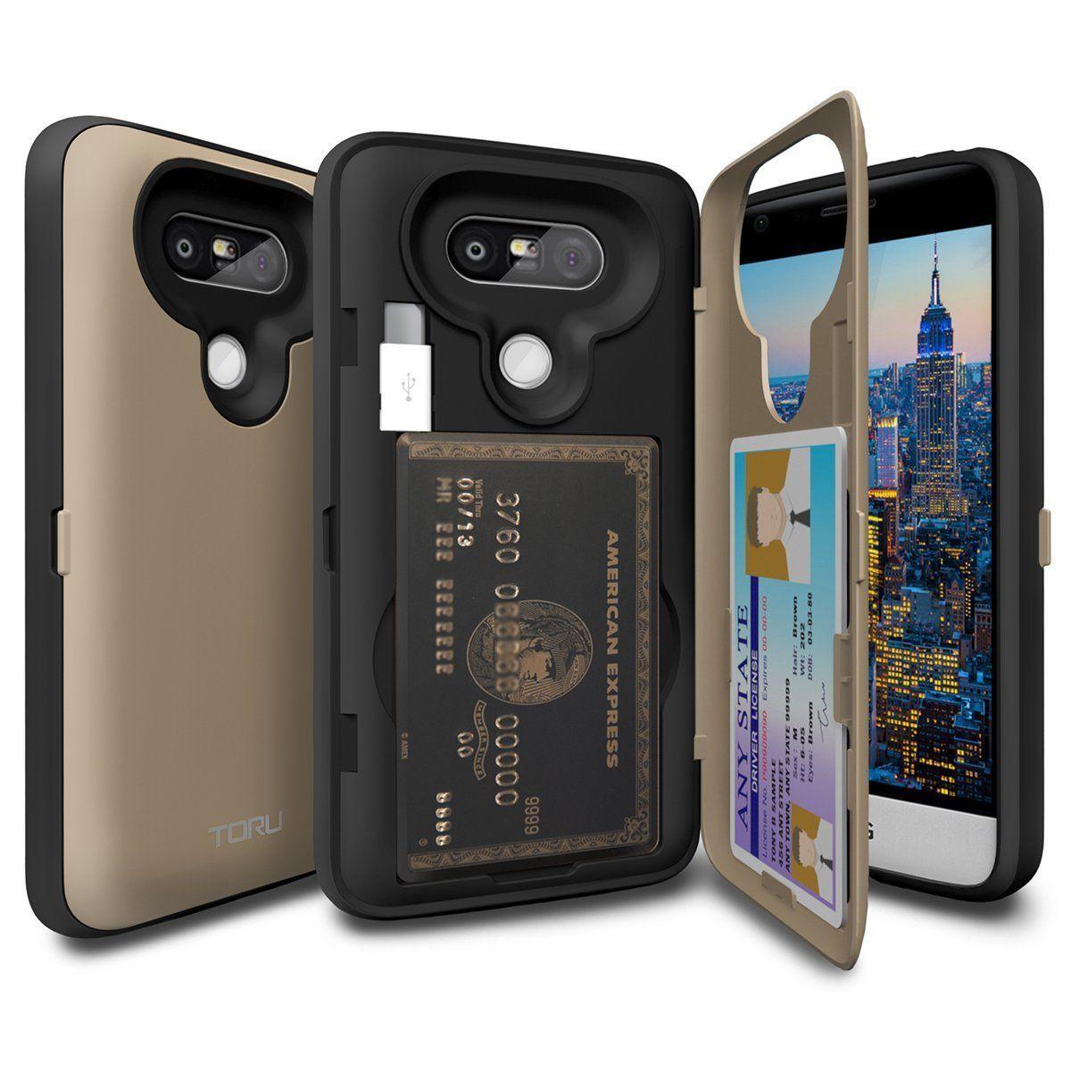 Amazon.com: LG G5 Case, TORU [CX PRO] G5 Wallet Case