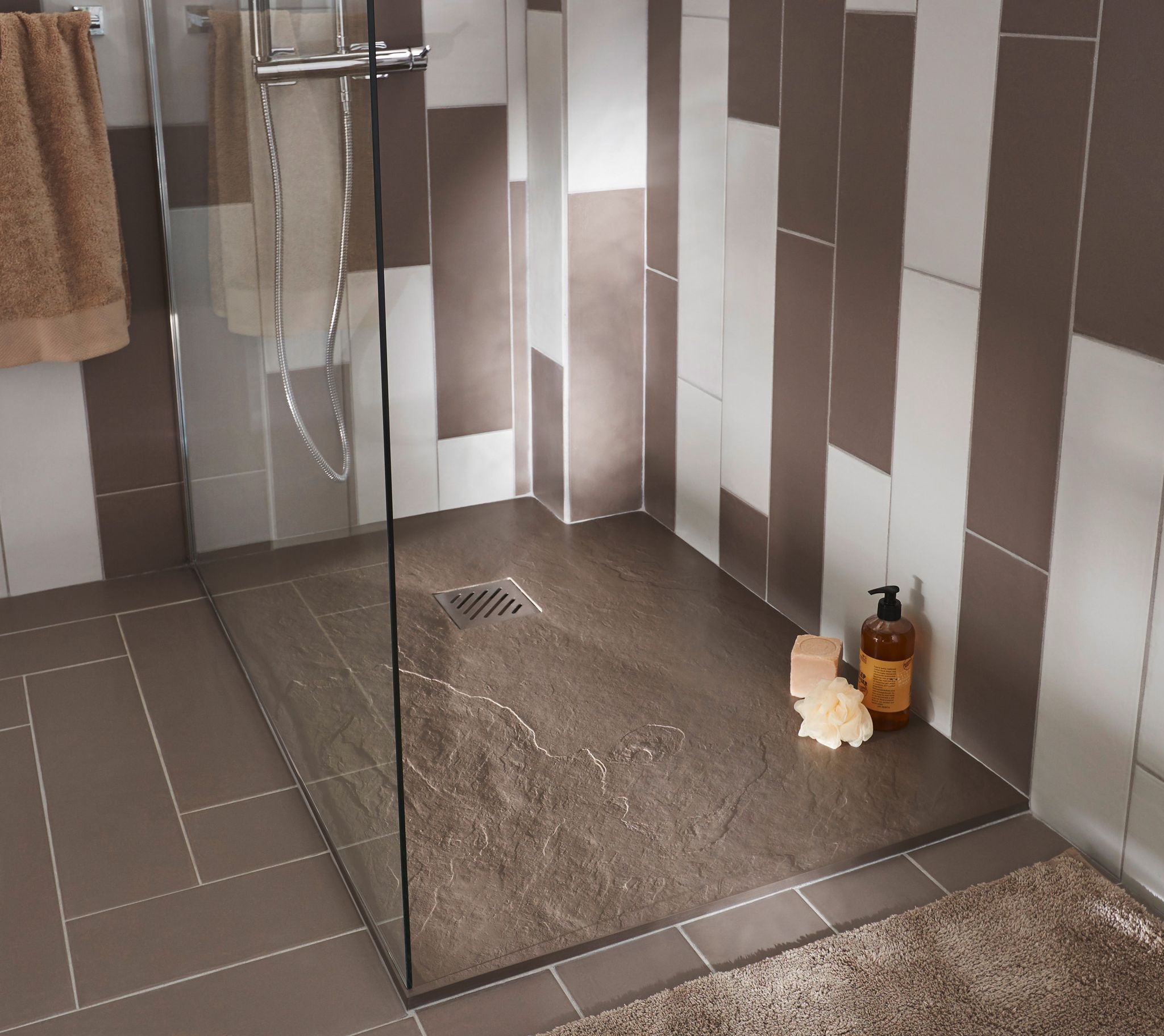 Douche l 39 italienne 20 mod les d couvrir sdb bathroom bathroom renos et home decor - Bac douche italienne ...