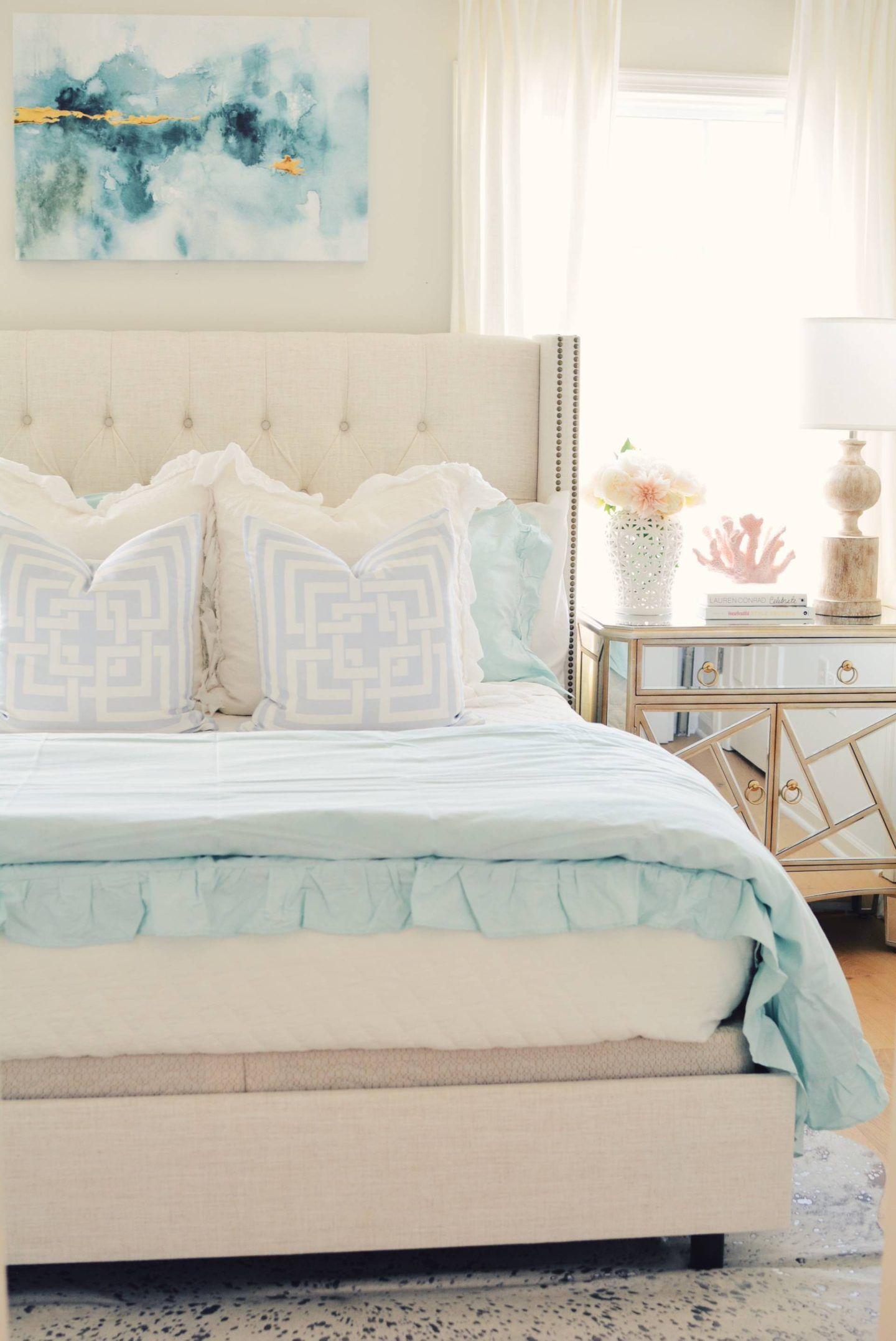 Coastal Inspired Bedroom Ideas With Walmart Beach Bedroom Decor