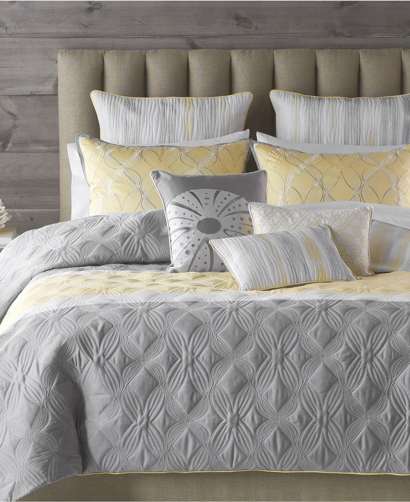 Bedroom Decor Gray And Yellow Macys Bedroom Sets Bedroom Colors Design Bedroom Colors Tumblr: Bryan Keith Bedding, Tango 9 Piece Comforter Sets