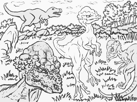 animal coloring pages for adults coloring pages of prenocephale