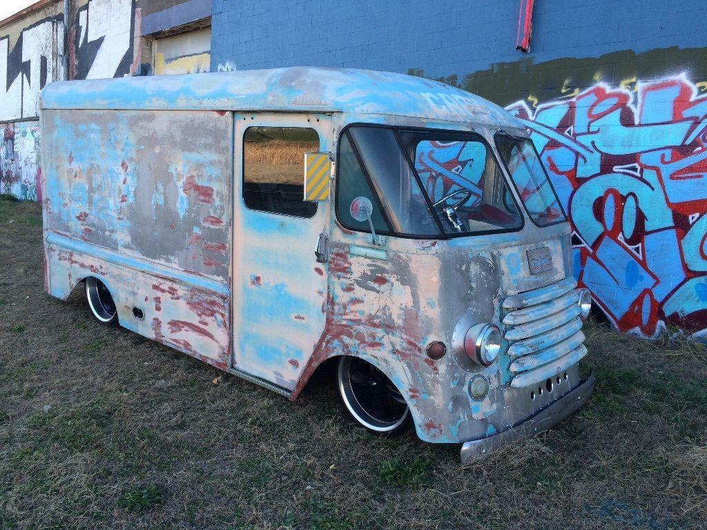 1955 Chevrolet Olson step van | Vintage Step Vans | Pinterest ...