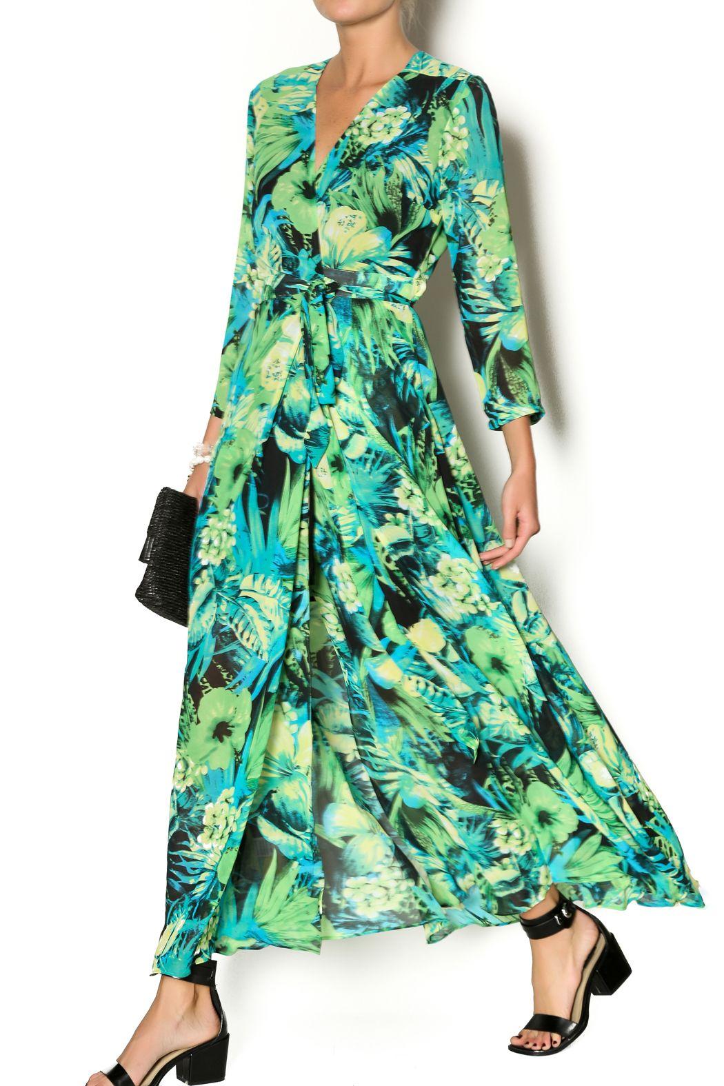 Jenn printed wrap maxi dress print wrap and maxi dresses