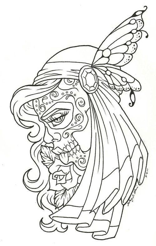 Candy Skull Gypsy – Tattoo Picture At Checkoutmyinkcom | Tats ...