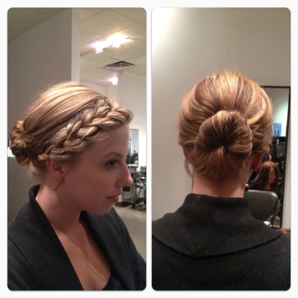 casual updo. learn
