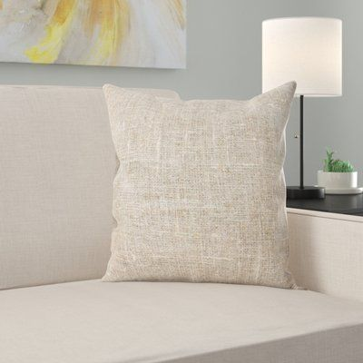 East Urban Home Len Throw Pillow #setinstains