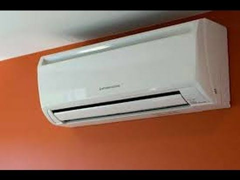 Mitsubishi Ductless Time Lapse Ductless Air Conditioner Mitsubishi Air Conditioner Room Air Conditioner