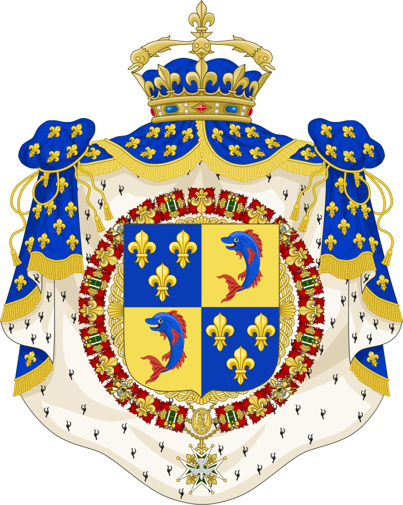 French Royal Coat Of Arms Coat Of Arms Of The Dauphin Of France C