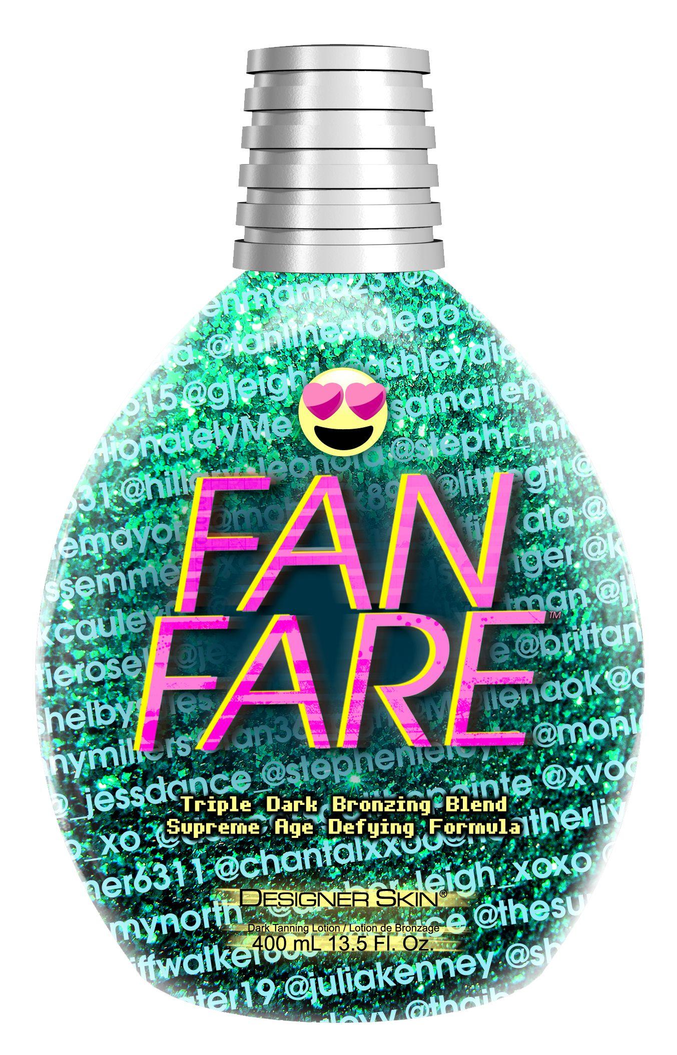Fanfare™ Triple Dark Bronzing Blend Designer skin