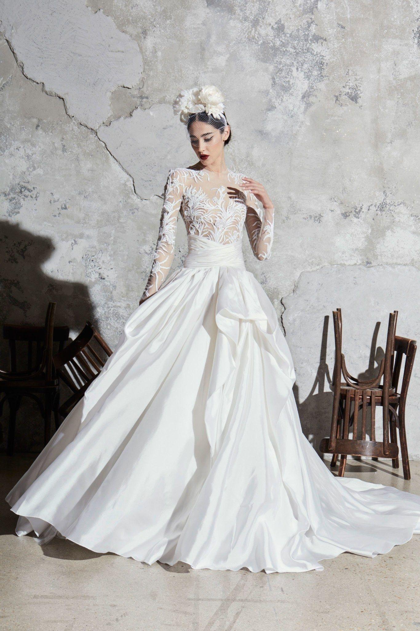 Photo of Zuhair Murad Spring / Summer 2020 Bridal – Fashion Shows | V …